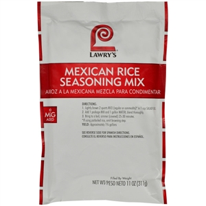 McCormick Lawrys Mexican Rice 11 oz. Seasoning Mix