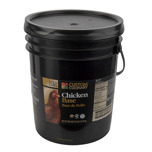 Gold Label No Msg Chicken Base - 50 Pound