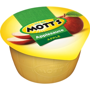 Motts Regular Apple Sauce Foil Top - 4 Oz.