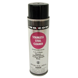 U.S.C. Aerosol Stainless Steel Cleaner - 15 Oz.