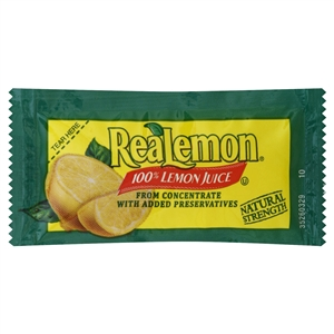 Portion Pac Realemon Lemon Juice - 4 Grm.
