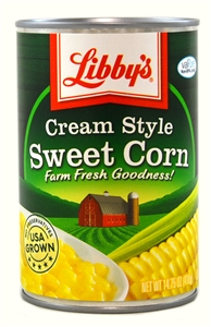 Seneca Libbys Fancy Cream Corn - 15.5 Oz.