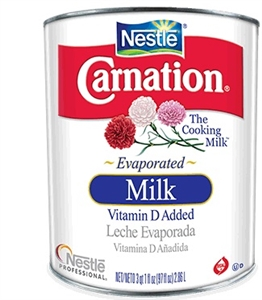 Nestle Carnation Evaporated Milk - 97 Oz.