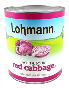 Cabbage Red Sweet and Sour Lohman