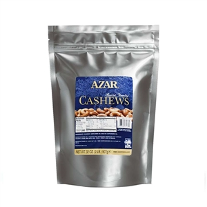 Cashew Whole Roasted Unsalted Jumbo Plastic Nut
