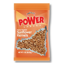 Azar Honey Roasted 1 oz. Sunflower Kernels Nuts