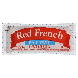 Red French Dressing Fat Free - 12 Grm.