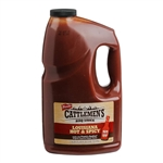 Frenchs Cattlemens Masters Reserve Louisiana Hot and Spicy Barbecue Sauce - 155 Oz.