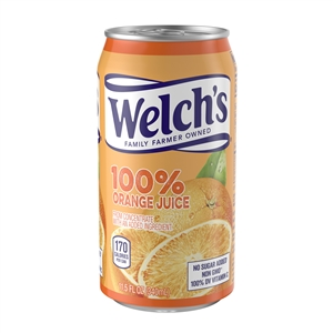 Welchs 100 Percentage Orange Juice - 11.5 Oz.