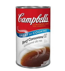 Campbell's Consomme Beef Condensed Soup 50 Oz.