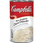 Campbell's New England Clam Chowder Condensed Soup 50 Oz.