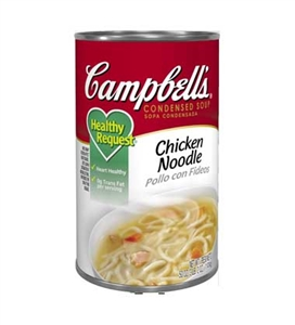 Campbell's Healthy Request Chicken Noodle Soup 50 Oz.