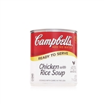 Campbell's Ready To Serve Easy Open Chicken With Rice Soup 7.25 Oz.