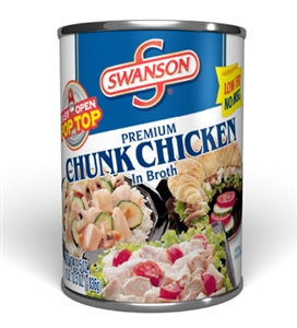 Campbell's Swanson Chicken Chunks 30 Oz.