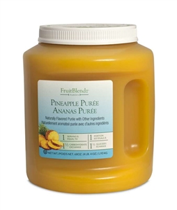 Leahy IFP Carbotrol Pineapple Fruit Sauce 68 oz.