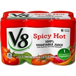 Campbell's V8 Spicy Hot Juice 5.5 Oz.