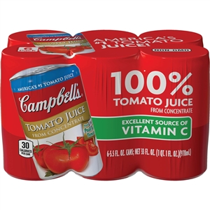 Campbell's Tomato Juice 5.5 Oz.