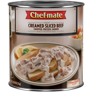 Nestle Chef Mate Thin Sliced Beef Cream Entree - 96 Oz.