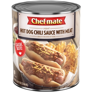 Nestle Chef Mate Hot Dog With Beef Chili Sauce - 108 Oz.