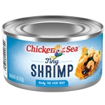 Chicken Of The Sea Shrimp Tiny - 4 Oz.