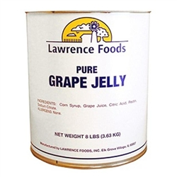 Lawrence Foods Jelly Pure Grape - 10 Can