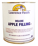 Lawrence Foods Whole Deluxe Apple Filling