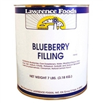 Lawrence Foods Whole Blueberry Filling - 10 Can