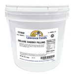 Lawrence Foods Whole Deluxe Cherry Filling - 20 Lb.