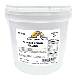 Lawrence Foods Lemon Filling - 20 Lb.