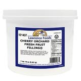 Lawrence Foods Whole Deluxe Cherry Filling - 0.75 Gal.
