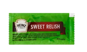Heinz Sweet Relish Single Serve - 9 Grm.