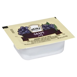Heinz Single Serve Cup Jelly Grape - 0.5 Oz.