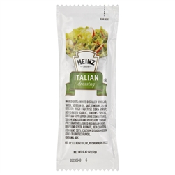 Heinz Italian Single Serve Dressing - 12 Grm.