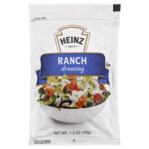 Heinz Ranch Single Serve Dressing - 1.5 Oz.