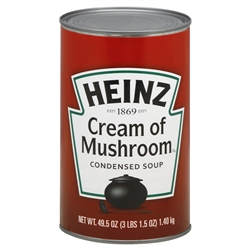 Heinz Cream Of Mushroom Soup - 50.5 Oz.