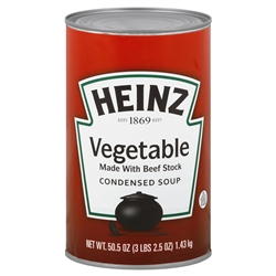 Heinz Vegetarian Vegetable Soup - 51.25 Oz.