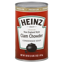 Heinz Great American New England Clam Chowder Soup - 50 Oz.