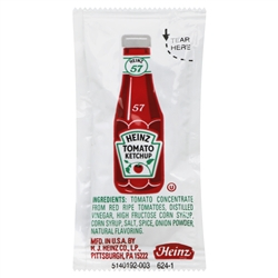 Heinz Ketchup Single Serve - 9 Grm.