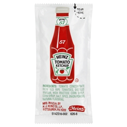Heinz Single Serve Ketchup - 11 Grm.