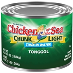 Chicken Of The Sea Light Tongol In Springwater Tuna Chunk 66.5 Oz.