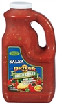 B and G Foods Ortega Salsa with Green Chilies 1 Gallon