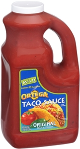B and G Foods Ortega Taco 1 Gallon Mild Sauce