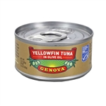 Easy Open Tuna Genova Tonno Solid Light Yellowfin - 3 Oz.