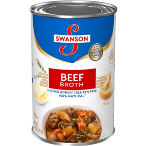 Campbell's Swanson Beef Broth Soup 14.5 Oz.