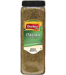 Seasoning Durkee Italian - 6 Oz.