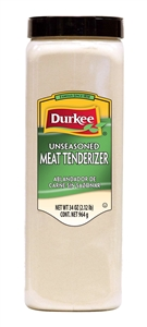 Tenderizer Durkee Unseasoned Meat - 34 Oz.