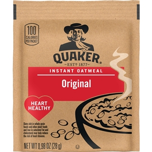 Pepsico Quaker Instant Oatmeal Regular Loose Pack - 48 Oz.