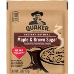 Pepsico Instant Oatmeal Maple and Brown Sugar - 1.5 Oz.