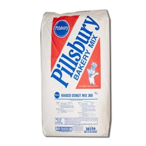 Pillsbury Yeast Raised Donut Mix - 50 Lb.
