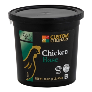 Custom Culinary Masters Touch Chicken Base No Msg Added 1 Lb.